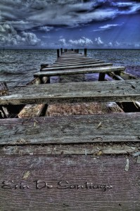 Photo of the Day: HDR Image of Hurricane Damaged Pier in Ambergris Caye, Belize