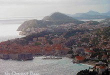Old City of Dubrovnik from lookout point