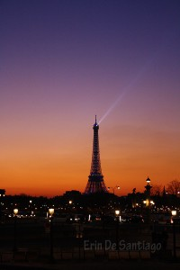 Photo of the Day: Eiffel Tower at Sunset