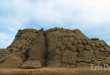 2011 Fulong Beach Sand Sculpture Festival in Taiwan