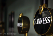 Guinness Tap Handles at Guinness Brewery in Dublin, Ireland