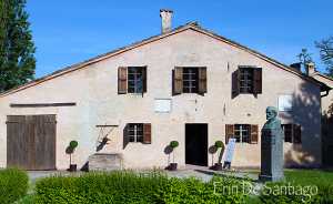 Photo of the Day: Giuseppe Verdi Birth Home in Le Roncole, or Roncole Verdi, Italy