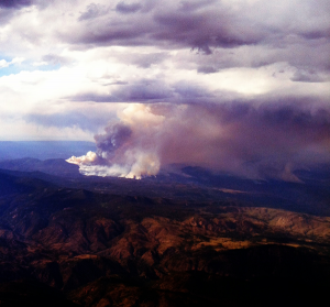 Photo of the Day: High Park Colorado Wildfires