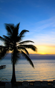 Photo of the Day: Sunset in Ambergris Caye, Belize