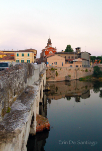 Ponte di Tiberio (Tiberius Bridge) in Rimini: One of Italy's Oldest Roman Bridges