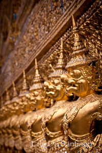 Photo of the Day: Golden Garuda on Ubosoth, Wat Phra Kaew Temple in Bangkok, Thailand