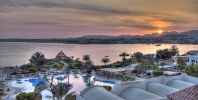Sunset from the Sofitel in Sharm el Sheikh, Egypt