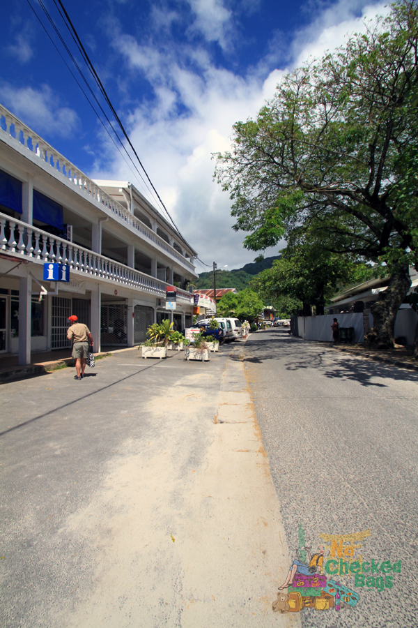 Huahine's main village of Fare