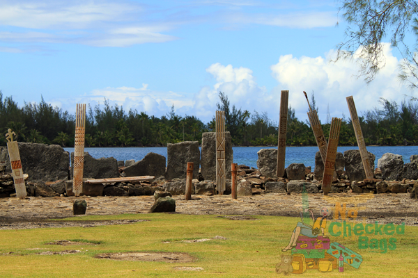 Tahitian Marae in Huahine