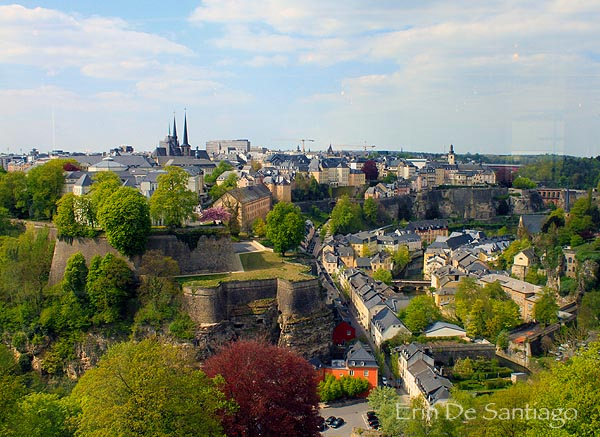 Luxembourg's historic and trendy Grund district