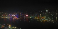 View from 115th floor room at The Ritz-Carlton, Hong Kong