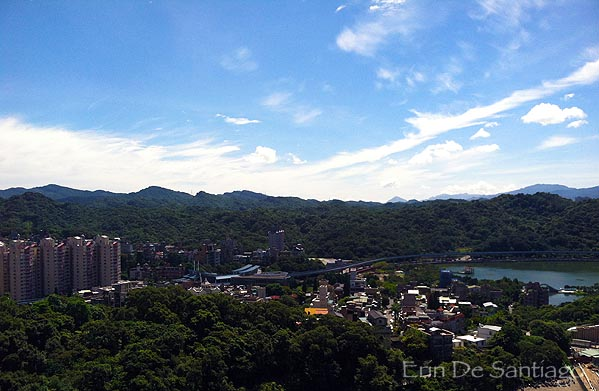 View from my living room in Taipei, Taiwan