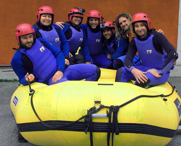 Blogville river rafting Emilia Romagna