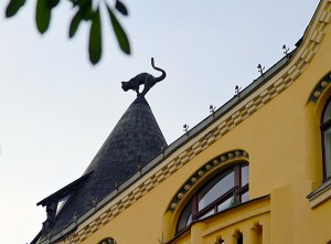 Photo of the Day: Cat Roof in Riga, Latvia