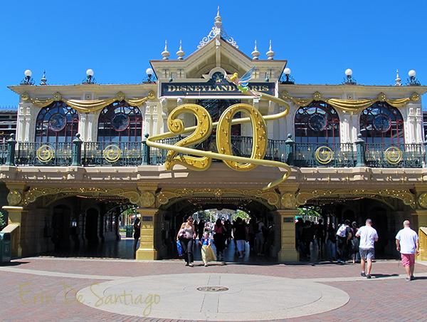20th Anniversary celebration at Disneyland Paris