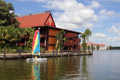 Disney's Polynesian Resort in Orlando, Florida, at Walt Disney World