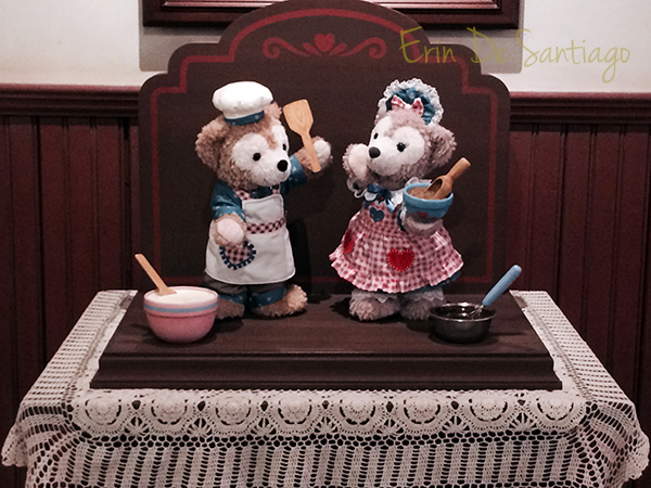Sweet Duffy event at Tokyo DisneySEA in January 2014