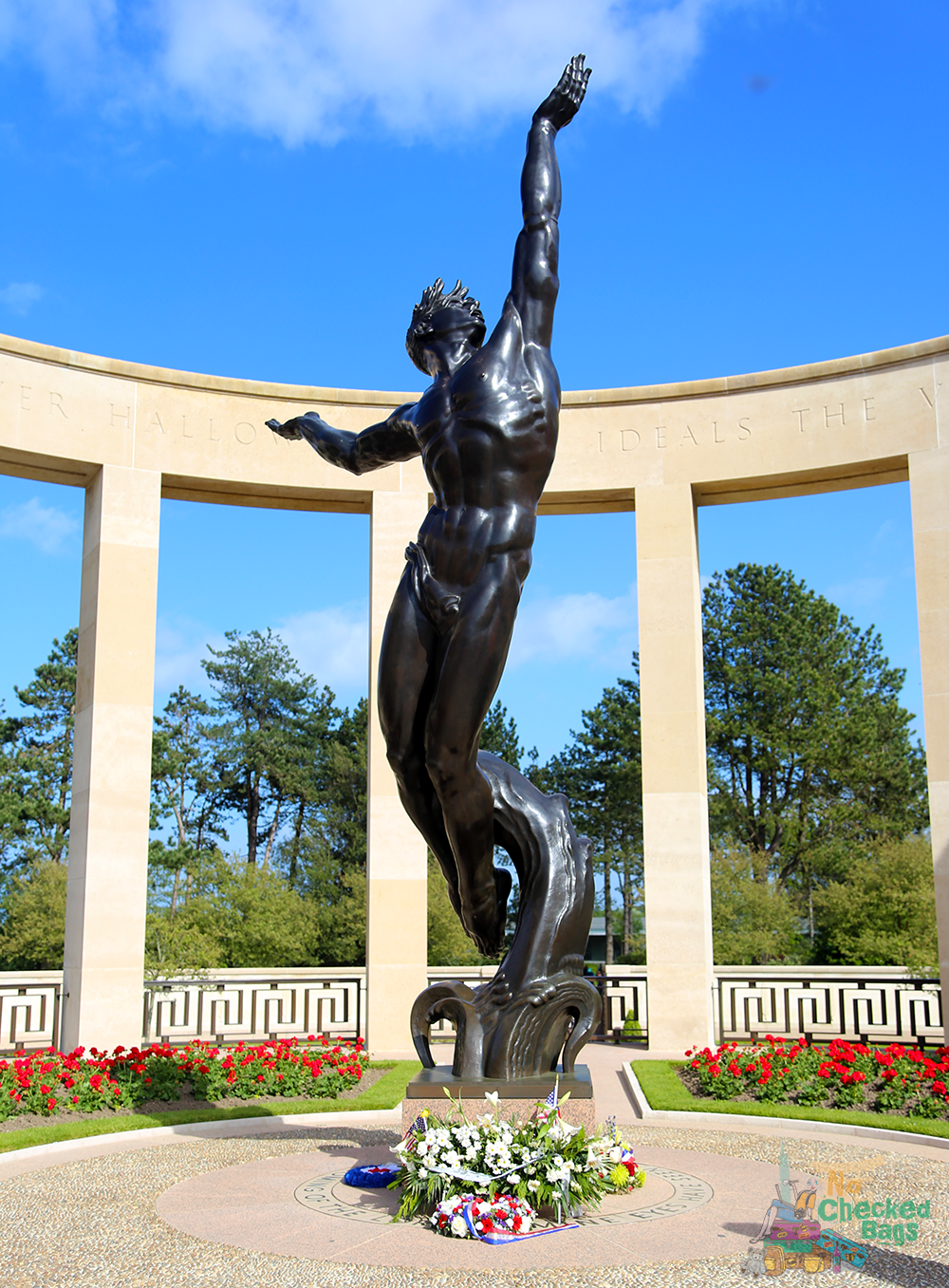 Normandy Memorial Statue