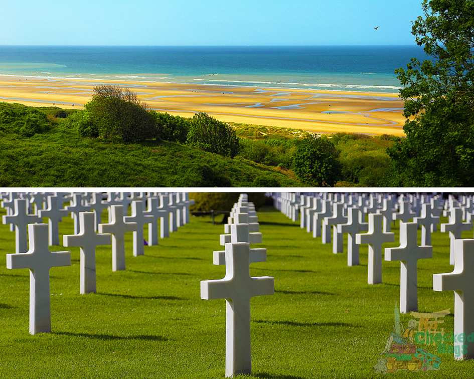 Normandy Omaha Beach and Graves