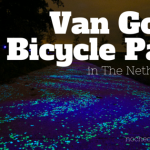 Van Gogh-Roosegaarde Starry Night Bicycle Path in The Netherlands